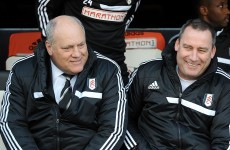 Are you sitting down? Meulensteen replaces Jol as Fulham boss