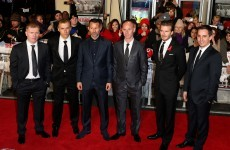 Beckham, Giggs and Co hit the red carpet for Class of '92 première