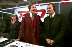 Ron Burgundy co-hosted the actual Canadian Olympic curling trials