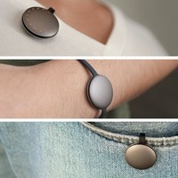 This tracker is the size of a 20c coin and the next big thing in fitness gadgets