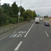 Male pedestrian hit by van on the N4