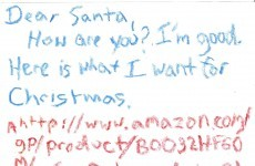 The greatest Santa letter of the year has arrived