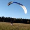 Paraglider takeoff goes horribly, horribly wrong