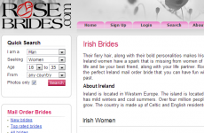 Mail-order bride service now offering 'fiery haired' Irish brides