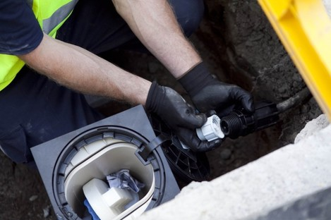 By 2016, over 1 million water meters will be installed outside domestic residences