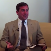 Steve Carell's original audition for Anchorman is fascinating and brilliant