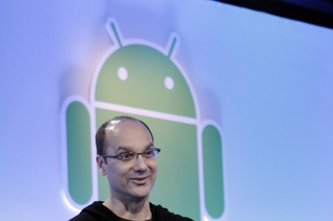 Andy Rubin was formally the head of Google's Android division before he began working on robotics.