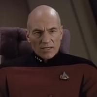 Captain Picard from Star Trek sings Let It Snow