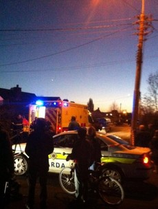 Man in 40s hospitalised with head injuries following garda stand-off