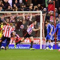 Wave 'em like you just don't care: John O'Shea scored ANOTHER goal tonight