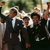 """""""He taught us how to come together and believe in ourselves"""": The world reacts to Mandela's death"""