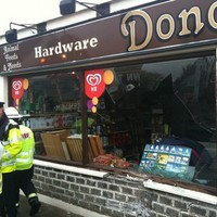 Truck carrying explosive material crashes into shop in Moneygall
