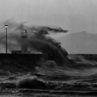Photos: Buncrana's beautiful storm