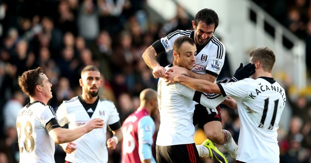 Berbatov shows coolness under pressure as Meulensteen enjoys first win as Fulham boss