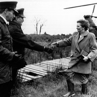 Cost of Margaret Thatcher's helicopter created headaches for govt departments
