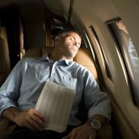 Man falls asleep during flight, wakes up on empty plane