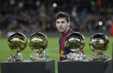 Messi, Ribery and Ronaldo shortlisted for Ballon d'Or