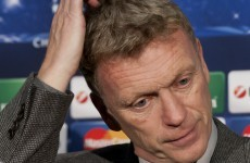 Moyes admits life tough at Man United, takes 'complete responsibility'