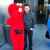 Elmo from Love/Hate met the real Elmo in Vegas