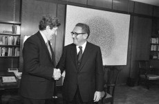 Government wanted to play down its involvement in Kissinger visit