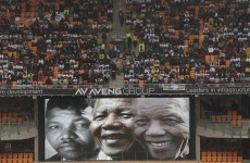 US network plays Toto's Africa over Mandela memorial footage