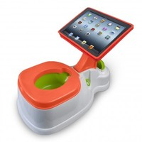 You can now buy a potty with a built-in iPad for your toddler