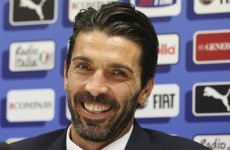 Buffon fires Hart a World Cup warning