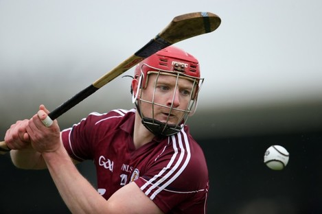 New Galway captain Joe Canning.