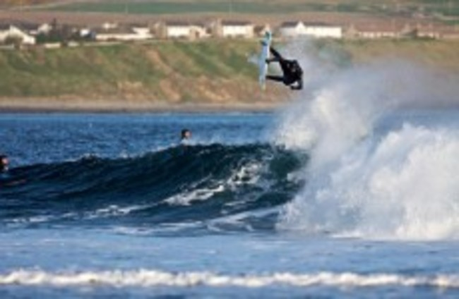 Surf's up as there's a swell weekend ahead