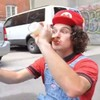 Watch a real-life Mario and Luigi face off in this amazing stop-motion video