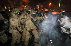 Ukrainian security forces fail to retake Kiev city hall after clashes