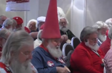 WATCH:  The 'Harvard of Santa Schools' teaches Santas how to be better