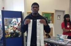 NFL player takes 12 kids on a toy shop shopping spree, ends up with a bill for $17,000