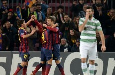 Celtic carved up in Barcelona as hosts hit six