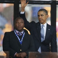 'Fake' deaf interpreter at Mandela memorial says he had 'schizophrenic episode'