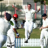 Ireland close in on victory over Afghanistan