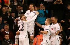 Standing ovation for hat-trick hero Soldado as Spurs thrash Anzhi