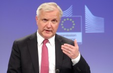 The blanket guarantee for banks was a mistake, says Olli Rehn
