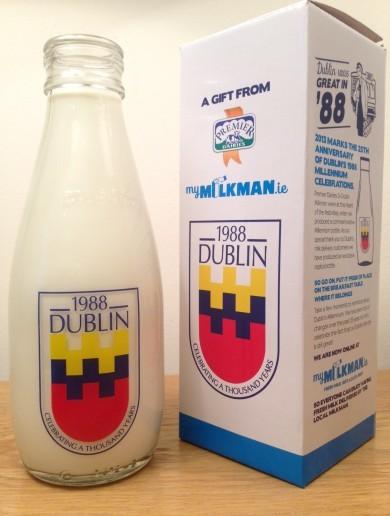 Millennium milk bottles are coming back to Irish doorsteps