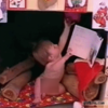 Kid learns the hard way not to mess with his Santa stocking