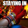 9 reasons why you're better off staying in this festive weekend