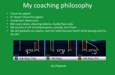 IT consultant applies for college football coaching job, citing success playing Madden