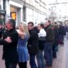 Video: Flash céilí stops shoppers in Dublin centre