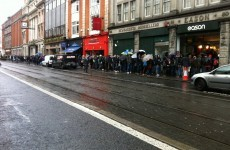 Pics: Hundreds queue around the block to see Commander Hadfield