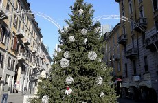 Milan orders removal of naughty Christmas tree
