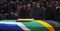 'Go well, Madiba':Nelson Mandela laid to rest in South Africa