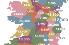 This map shows food poverty 'is a reality in every county in Ireland'