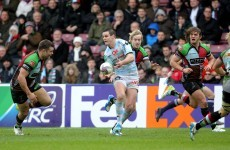 Sexton's Heineken Cup dreams in ruins as Racing lose to 'Quins again