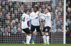 United stop rot with victory at Villa
