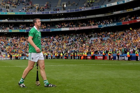 Moran's final game for Limerick was the All-Ireland semi-final defeat against Clare.